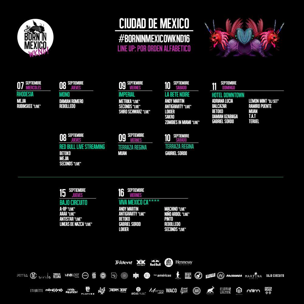 borninmexicowknd16 born in mexico wknd 16